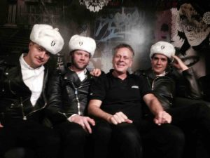 The Hives Sweden Pop, Crew TV celebs